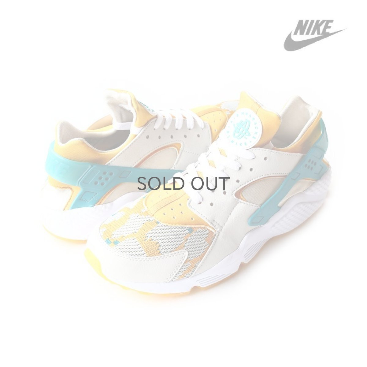 画像1: 海外限定 -【NIKE】AIR HUARACHE RUN PA / YELLOW (1)
