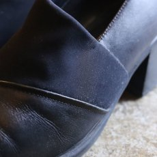 画像4: UPPER DESIGN LEATHER BOOTIES (4)