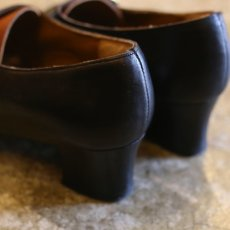 画像5: BICOLOR DSIGN LEATHER SHOES / 38 / MADE IN ITALY (5)