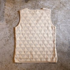 画像2: DESIGN SILK VEST / Ladies S (2)