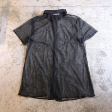 画像2: SEE THROUGH DESIGN S/S SHIRT / Ladies M~L (2)
