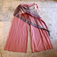 "画像1: 【Wiz&Witch】""UNITED"" SCARF PLEATED PANTS / OS (1)"
