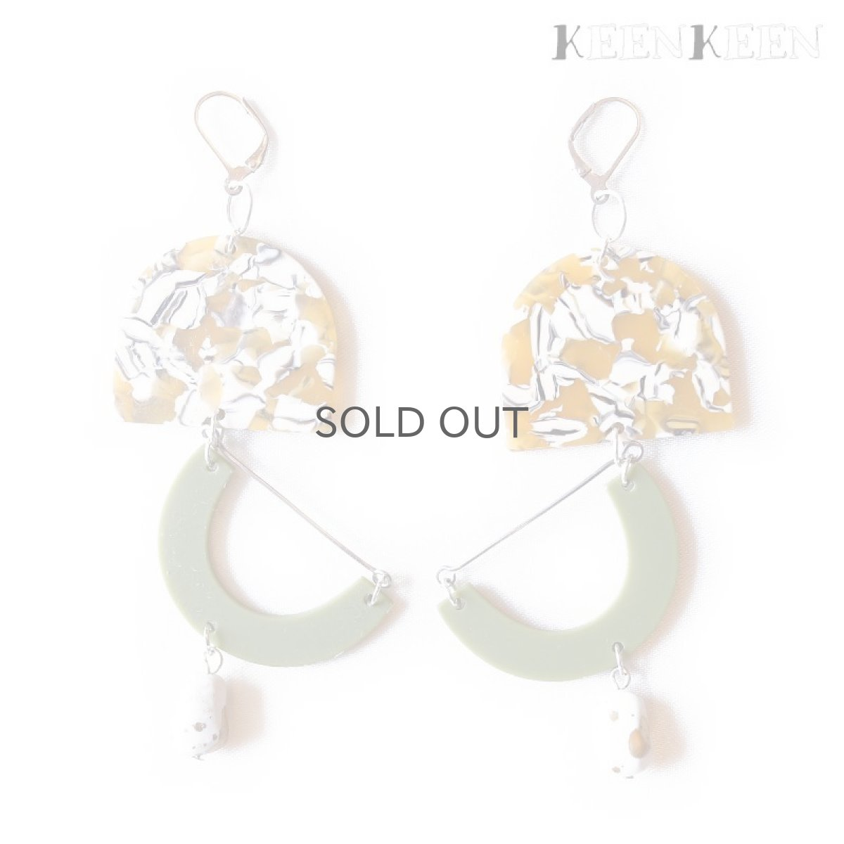 "画像1: 【KEENKEEN】- ""EASE"" PIERCE / 040 (1)"