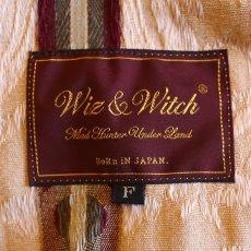 """画像6: 【Wiz&Witch】""""HOOK UP"""" TAPESTRY SHORT PONCHO JACKET / FREE (6)"""