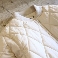 画像3: 20%OFF!!【WONDERGROUND】QUILTING JACKET / WHITE (3)