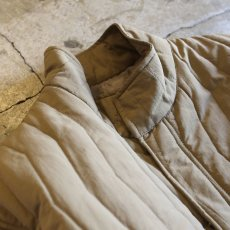 画像3: 20%OFF!!【WONDERGROUND】ZIGZAG QUILTING LGT JACKET / BEIGE (3)