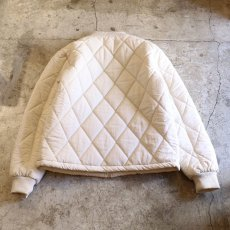 画像2: 20%OFF!!【WONDERGROUND】QUILTING JACKET / WHITE (2)