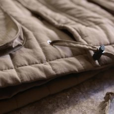 画像5: 20%OFF!!【WONDERGROUND】ZIGZAG QUILTING LGT JACKET / BEIGE (5)