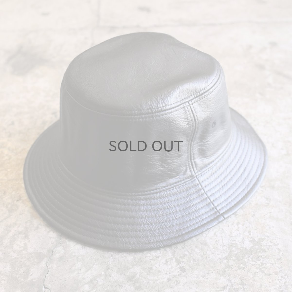 画像1: 20%OFF!!【WONDERGROUND】F/L BUCKET HAT (1)