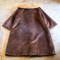 画像2: 1960's VINTAGE FUR DESIGN COAT / Ladies M (2)
