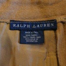 画像6: 【RALPH LAUREN】CAMEL HAIR SLACKS / W29 / MADE IN ITALY (6)