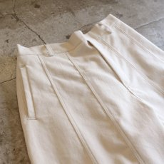 画像3: 【WONDERGROUND】PARLOR PANTS / MILK (3)