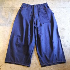 画像1: 【WONDERGROUND】CHILLAX PANTS / DENIM (1)