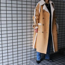 "画像7: 20%OFF!!【Wiz&Witch】""THE U.K"" FAUX MOUTON BUFFALO COAT (7)"