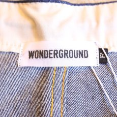 画像6: 【WONDERGROUND】CHILLAX PANTS / DENIM (6)