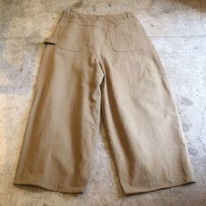 画像2: 【WONDERGROUND】CHILLAX PANTS / KHAKI (2)