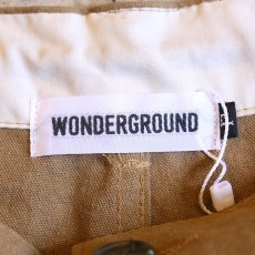 画像6: 【WONDERGROUND】CHILLAX PANTS / KHAKI (6)