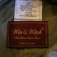 "画像6: 【Wiz&Witch】""DIRTY BEAUTIFUL"" FISHTAIL ARMY COAT / OS (6)"