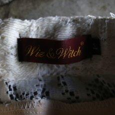 画像6: 【Wiz&Witch】VINTAGE LACE LONG SKIRT / W23~W34 (6)