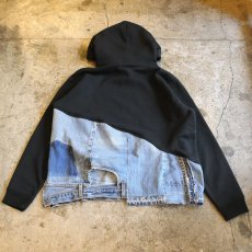 "画像2: オーダー商品【Wiz&Witch】""WEIRD PARKA"" / BLACK×BLUE (2)"
