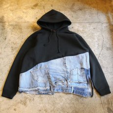 "画像1: オーダー商品【Wiz&Witch】""WEIRD PARKA"" / BLACK×BLUE (1)"