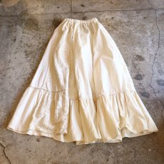 "画像2: 【Wiz&Witch】""UNITED"" VINTAGE LONG SKIRT / FREE (2)"