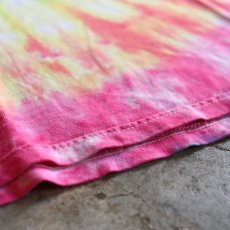 画像5: TIE DYE PATTERN DESIGN TEE / Ladies XL (5)