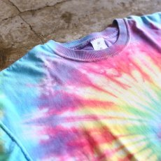 画像3: TIE DYE PATTERN DESIGN TEE / Ladies XL (3)