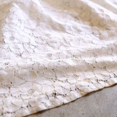 画像5: SQUARE NECK LACE BLOUSE / Ladies M (5)