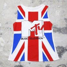 画像1: 80's OLD MTV N/S TEE / Mens SM / MADE IN UK (1)