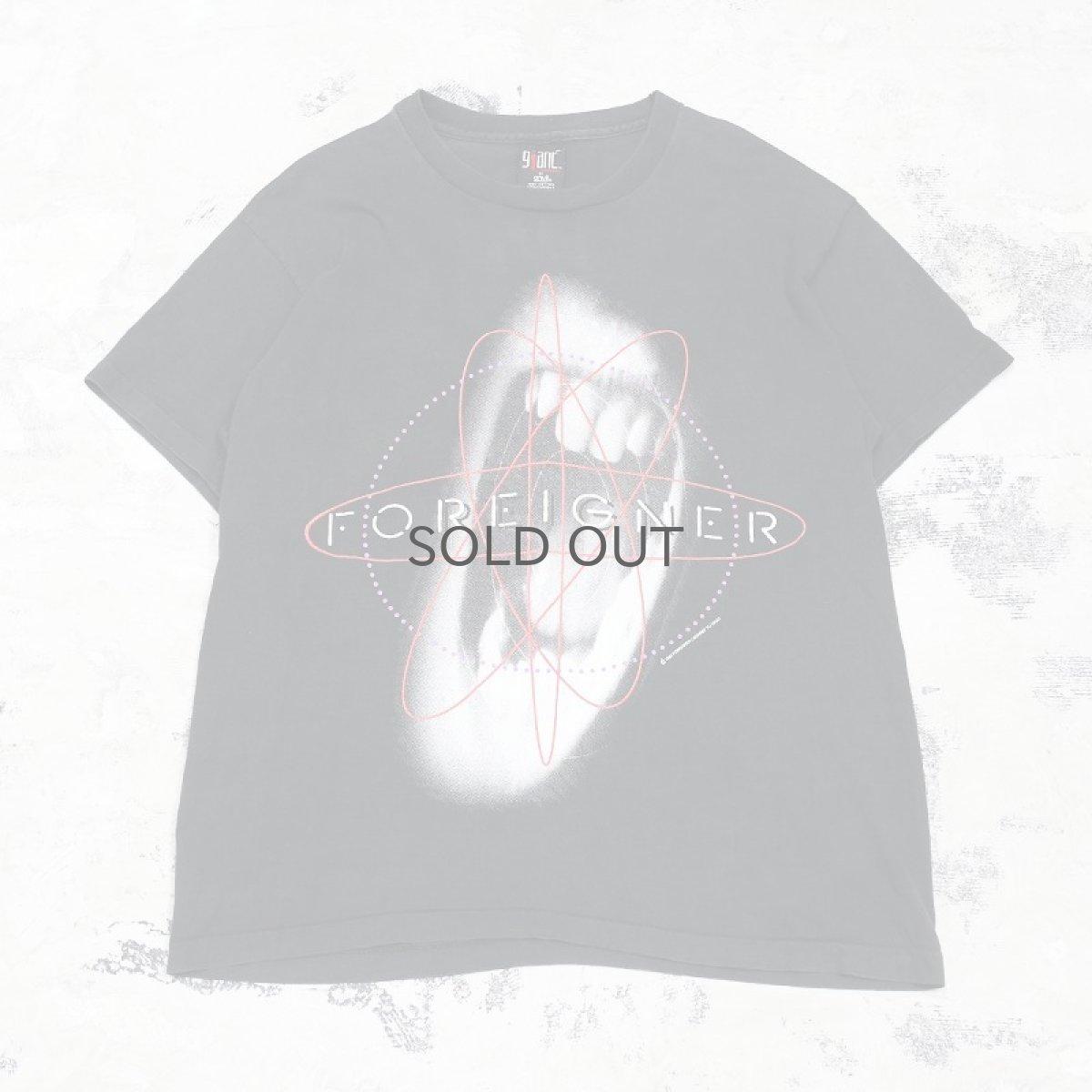 """画像1: 90's """"FOREIGNER"""" WORLD TOUR TEE / Mens XL / MADE IN USA (1)"""