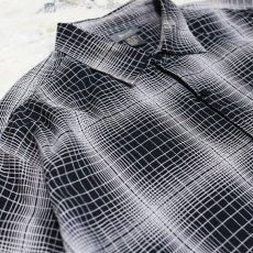 画像6: GRADATION CHECK S/S OVER SHIRT / Mens 4XL (6)