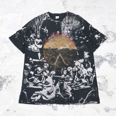 "画像1: OLD MOSQUITOHEAD ""THE BLACK CROWES"" TEE / Mens XL / MADE IN USA (1)"