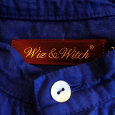 "画像6: 【Wiz&Witch】""GYPSY"" EURO HENLEY N/S SHIRT / NAVY / Ladies L (6)"