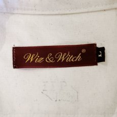 """画像6: 【Wiz&Witch】""""GYPSY"""" EURO HENLEY L/S SHIRT / OFF WHITE / Ladies L (6)"""