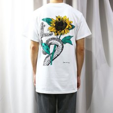 画像6: 【JESUS AND JOHN】SUNFLOWER T-SHIRTS / M&L (6)