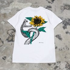 画像1: 【JESUS AND JOHN】SUNFLOWER T-SHIRTS / M&L (1)