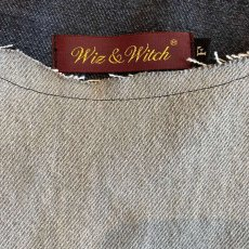 "画像6: 【Wiz&Witch】""UNITED"" DENIM PATCHWORK TOPS / OS (6)"