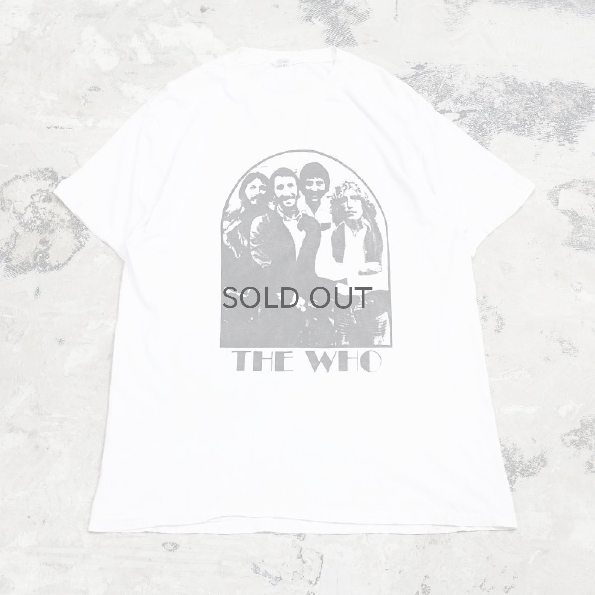 "画像1: OLD ""THE WHO"" ROCK TEE / Mens XL (1)"