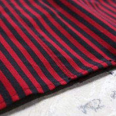 画像5: STRIPE PATTERN S/S SHIRT / Mens M (5)