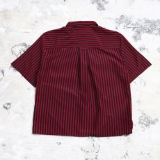 画像2: STRIPE PATTERN S/S SHIRT / Mens M (2)