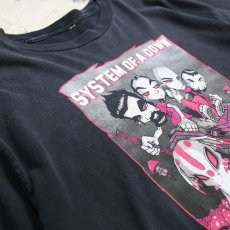 "画像3: 90's ""System of a down"" PRINT TEE / Mens L (3)"
