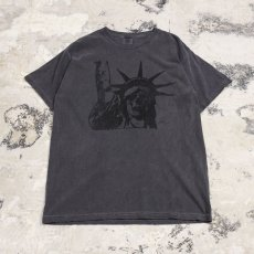 画像1: 【JESUS AND JOHN】DEAD F T-SHIRTS / BLACK×BLACK (1)