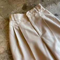 画像5: TAPERED 2TUCK COLOR PANTS / W24〜W25  (5)