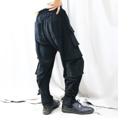 画像9: 【WONDERGROUND】DESTROY PANTS / BLACK (9)