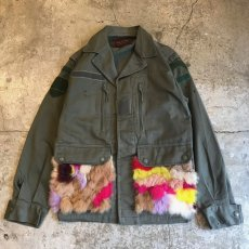 "画像1: 【Wiz&Witch】""MIX FUR""  FRANCE  F2 JACKET / OS (1)"