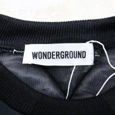 画像8: 【WONDERGROUND】CITY PULLOVER / BLACK / OS (8)