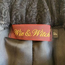 画像8: 【Wiz&Witch】VELOUR GEOMETRIC PANTS / FREE (8)