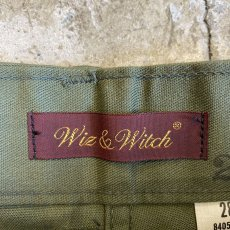 "画像8: 【Wiz&Witch】""MOCO"" MILITARY PANTS / W28 (8)"