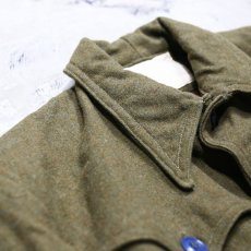 画像3: 【Wiz&Witch】FUR POCKET VINTAGE MILITARY WOOL JACKET / OS (3)